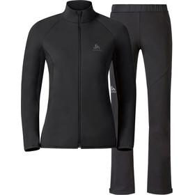 Odlo W's Stryn Jacket & Pant Set Black